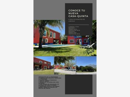 Imagen 1 de 20 de Quinta En Venta En Oasis De García