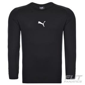 Camisa Camiseta Puma Manga Longa Proteção Solar Fps Térmica