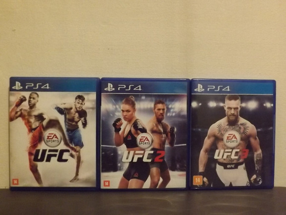 Ps4 Ufc Trilogy 1, 2 & 3 - Ultimate Fighting Championship...