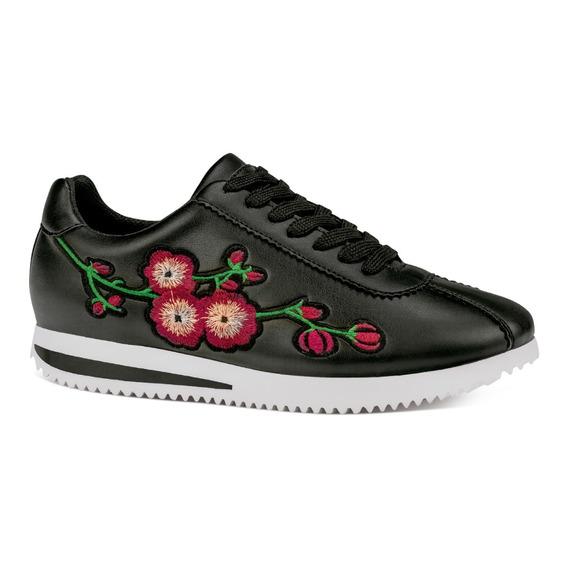 Alfie Sneakers Urbano Bordeado Flores 5500252