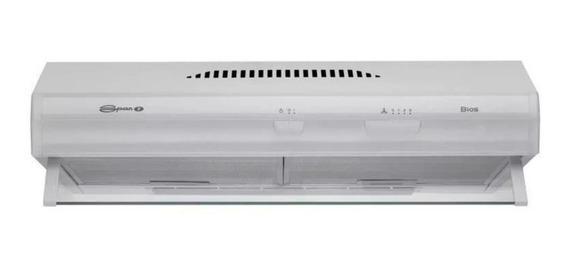 Extractor purificador cocina Spar Bios ac. inox. 600mm x 150mm x 525mm blanco 220V