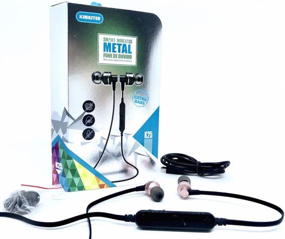 Fone De Ouvido Extra Bass K25 - Bluetooth Controle De Volume