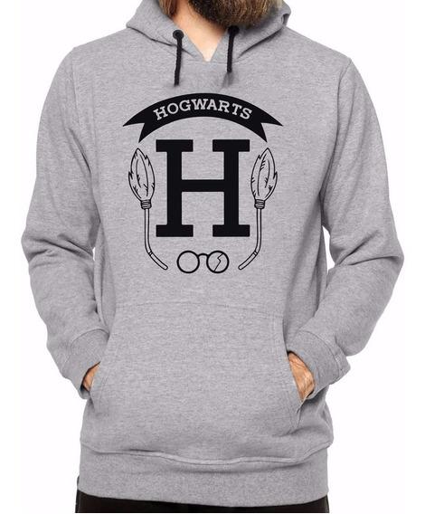 Blusa Blusão Moletom Harry Portter Hogwarts School Lindo