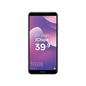 Huawei Y7 2018 - Negro   Postpago Plan Control Ichip+ 39.90c