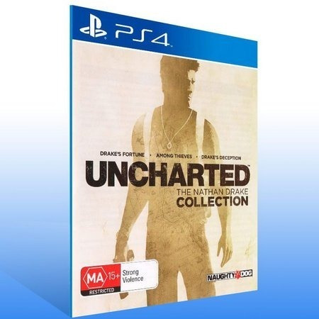 Ps4 Uncharted The Nathan Drake Collection Original 1
