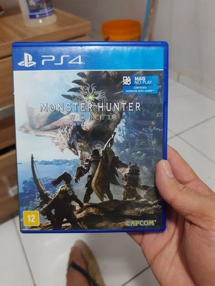 Monster Hunter World Ps4 Mídia Física