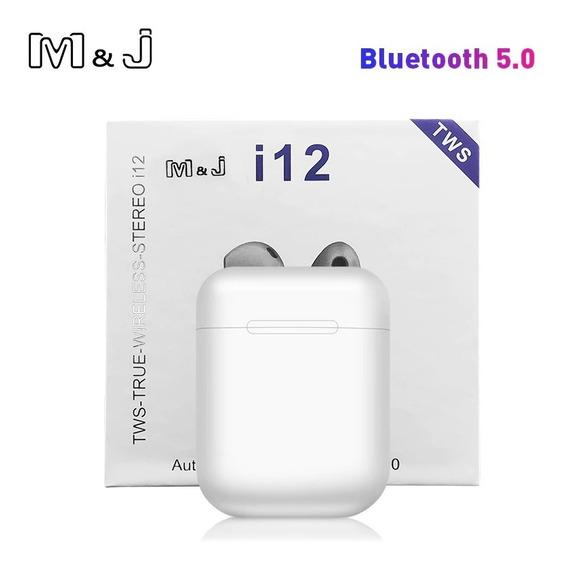 Fone I12 Tws Original Airpod Bluetooth iPhone / Android