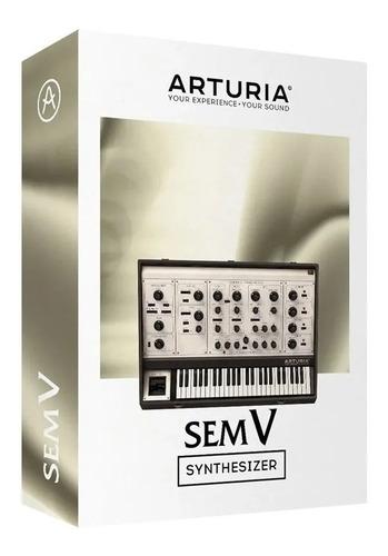 Software Arturia Sem V Oberheim  Original Licencia Oficial