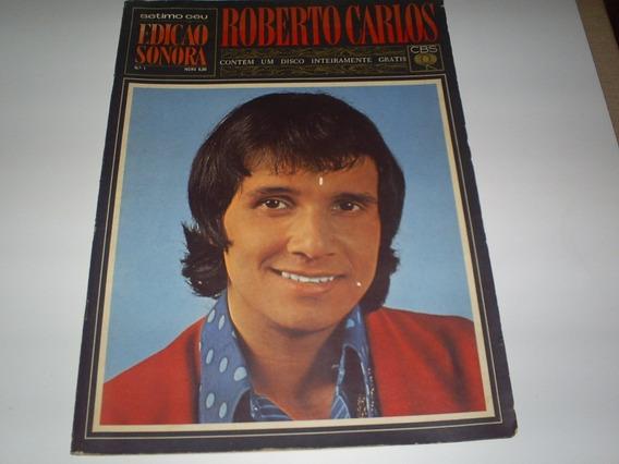 Revista Setimo Céu Nº 1 1968 Edicão Sonora Com Disco