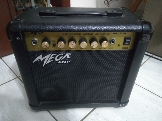 Amplificador Ml-20 Mega Cubo Para Guitarra 15 Watts