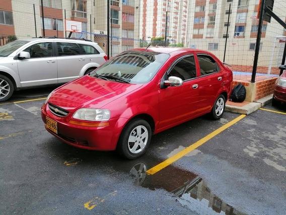 Chevroleth Aveo Family Rojo 2011...96 Mil Kilometraje