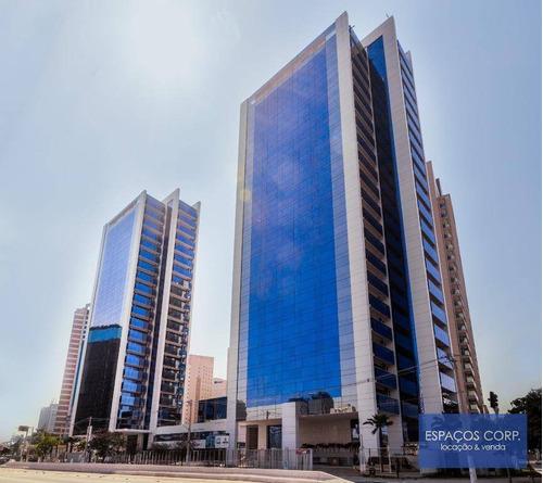 Laje Corporativa Para Alugar, 1.593m² - Brooklin - São Paulo/sp - Lj0605