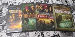 Dvd Colección Piratas Del Caribe