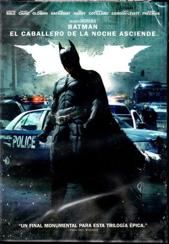 Batman El Caballero De La Noche Asciende - Dvd Nuevo Orig.