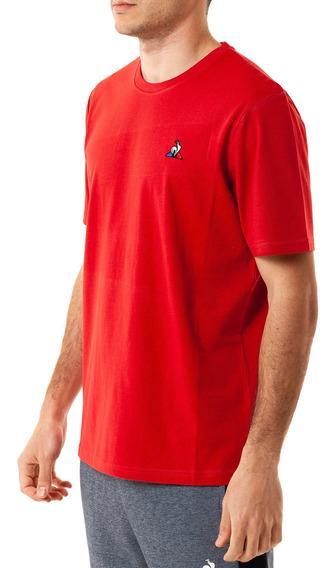 Remera Ess N 1 Tee Rojo Hombre Le Coq Sportif
