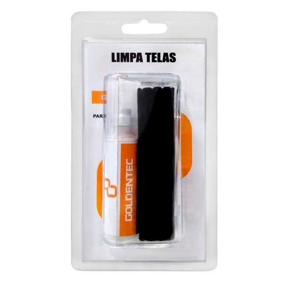 Kit Limpa Telas Led Lcd Plasma Monitor Notebook Goldentec
