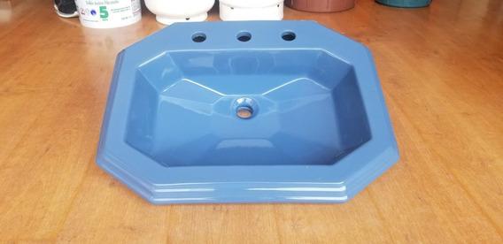 Lavabo Azul Marino Grecco
