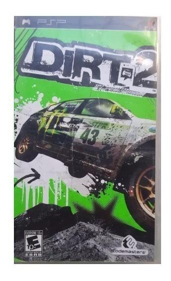 Dirt 2 - Sony Psp - Mídia Física Original Psp