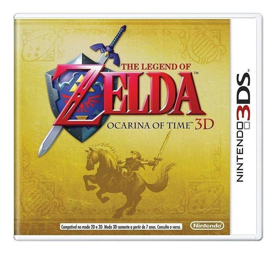 The Legend Of Zelda Ocarina Of Time 3d 3ds Lacrado