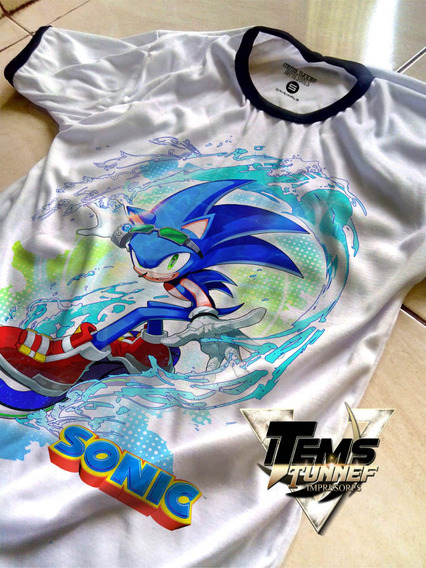 Playera Sonic Pelicula Juego Anime Calidad Alta Mayoreo S6