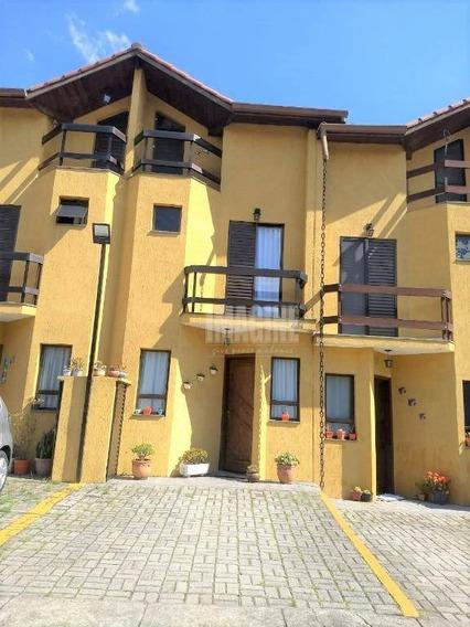Sobrado Em Condomínio Com 3 Dorms, 2 Vagas, Churrasqueira, 107m² - So0321