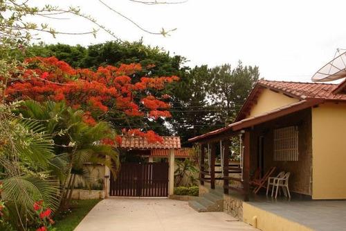 Chácara Com 3 Dormitórios À Venda, 2520 M² Por R$ 849.000 - Condomínio Vila Suévia - Itu/sp - Ch0024