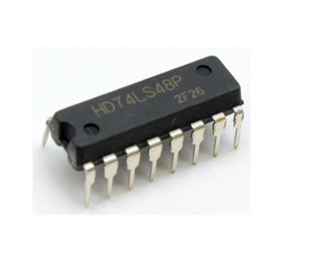 1 Circuito Integrado Ttl 74ls48 Bcd To 7-segment Decoder