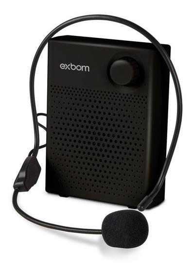Kit Microfone Megafone Digital Portátil Professor Palestras