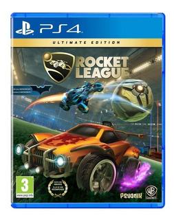 Rocket League Ultimate Edition Ps4. + Dlc Batimovil. Fisico