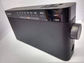 Rádio Portátil Fm/am Sony Icf-306 100mw - Preto