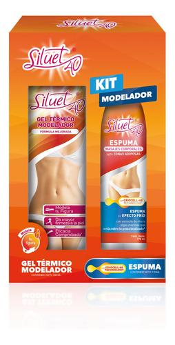 Siluet 40 Pack Gel Térmico 200ml + Espuma 170ml