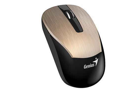 Mouse Sem Fio Genius Eco-8015 Recarregavel 2,4ghz 1600dpi