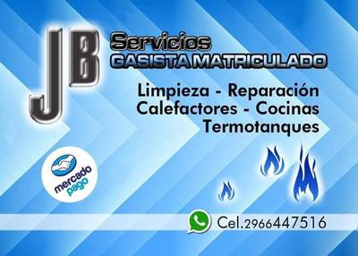 Gasista Matriculado, Reparacion Artefactos A Gas