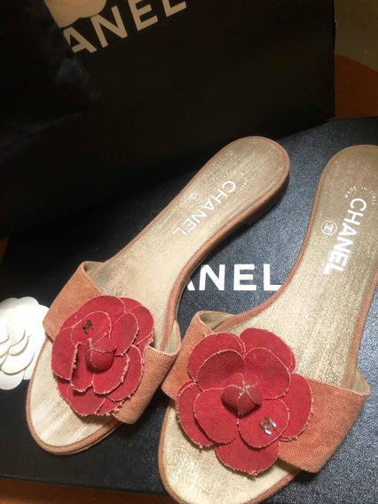 Chinelo Chanel Original Usado