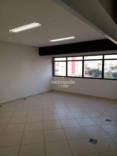 Imagem 1 de 6 de Sala Para Alugar, 40 M² Por R$ 1.200,00/mês - Santo Antônio - São Caetano Do Sul/sp - Sa0878