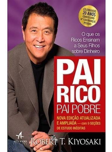Livro Pai Rico, Pai Pobre - Edição 20 Anos Robert Kiyosaki