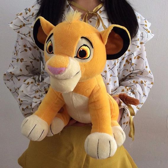 Rei Leão Simba Pelúcia 26cm Nova E Original!