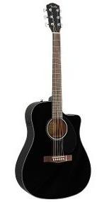 Violão Eletroacústico Fender Cd-60sce Black