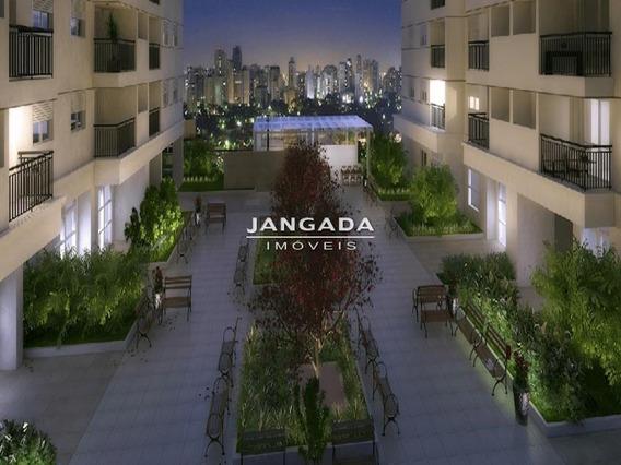 Apartamento 02 Dormitorios, 01 Vaga Em Capital Bras - 11302