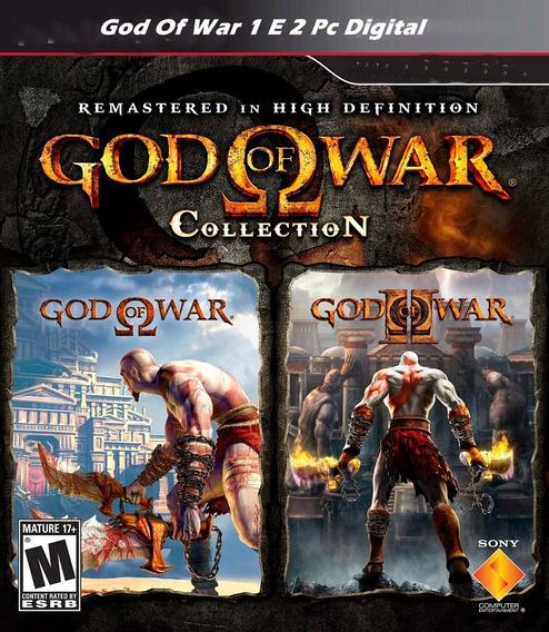 God Of War 1 + 2 Via E-mail +1000 Jogos Fliperama De Brinde