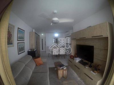 Apartamento Com 2 Dormitórios À Venda, 99 M² Por R$ 710.000 - Icaraí - Niterói/rj - Ap2402