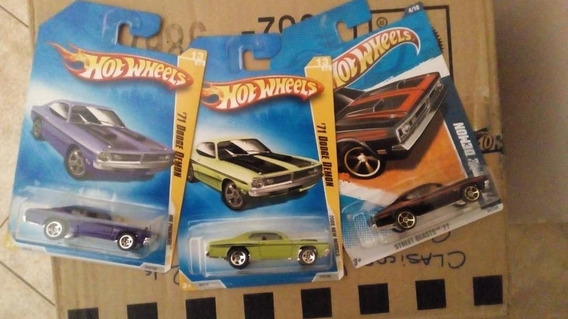Hotwheels Dodge Mopar Años 60y70 Parte 1 Escala 1/64 Nuevos!