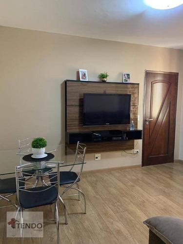 Imagem 1 de 10 de Imob01 - Apartamento 56 M² - Venda - 2 Dormitórios - Osvaldo Cruz - São Caetano Do Sul/sp - Ap2667