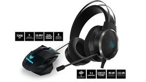 Kit: Mouse Gamer Predator Cestus 500 + Headset Gamer Acer Pr