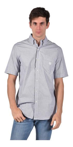 Camisa Classic Fit Chaps Azul 750703712-30cx Hombre