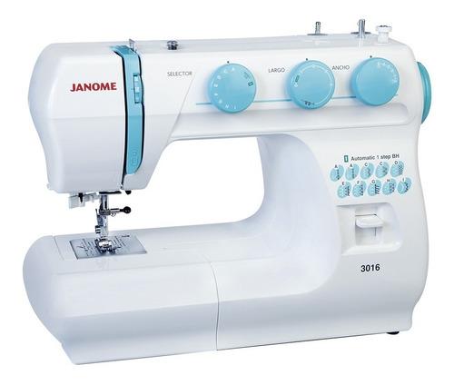 Máquina De Coser Casera Janome 3016