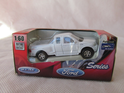 Retro Juguete Camioneta Pick Up Ford F150 Flaresi Welly  #l