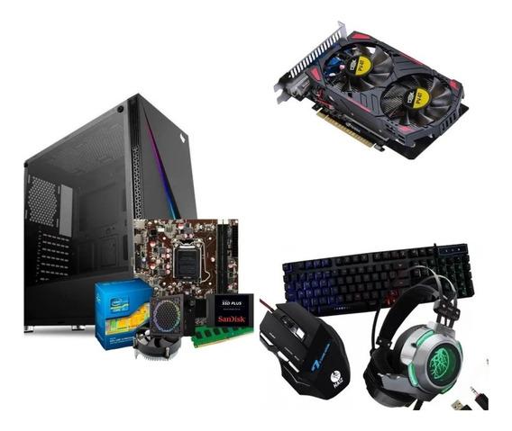 Cpu Gamer Processador I5 3570,placa Video 750ti, 8gb Ddr3.