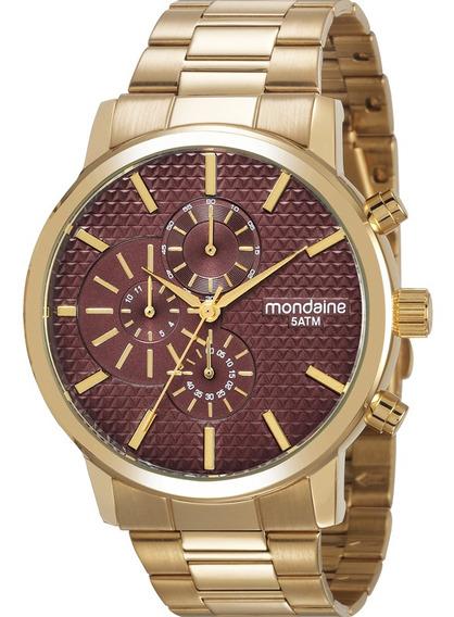 Relógio De Pulso Feminino Mondaine 53708lpmvds2
