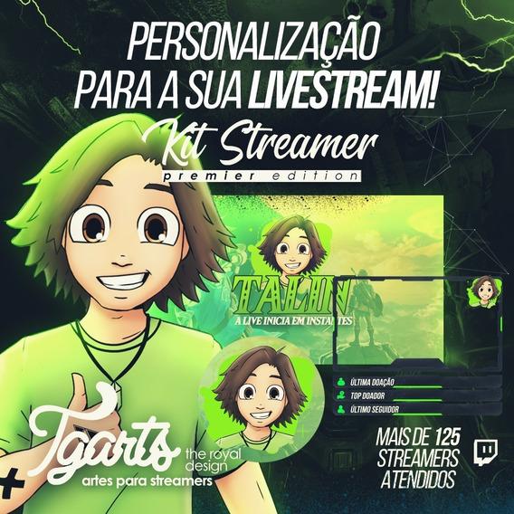 Arte Para Streamer (twitch) - Premier Edition
